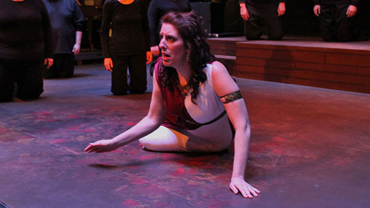 Dido and Aeneas: Winter 2014 MSU Opera Theater production