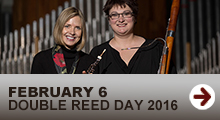 MSU Double Reed Day Feb. 6, 2016
