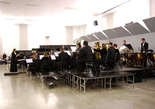 Wind Ensemble concert in Wehr Band Hall