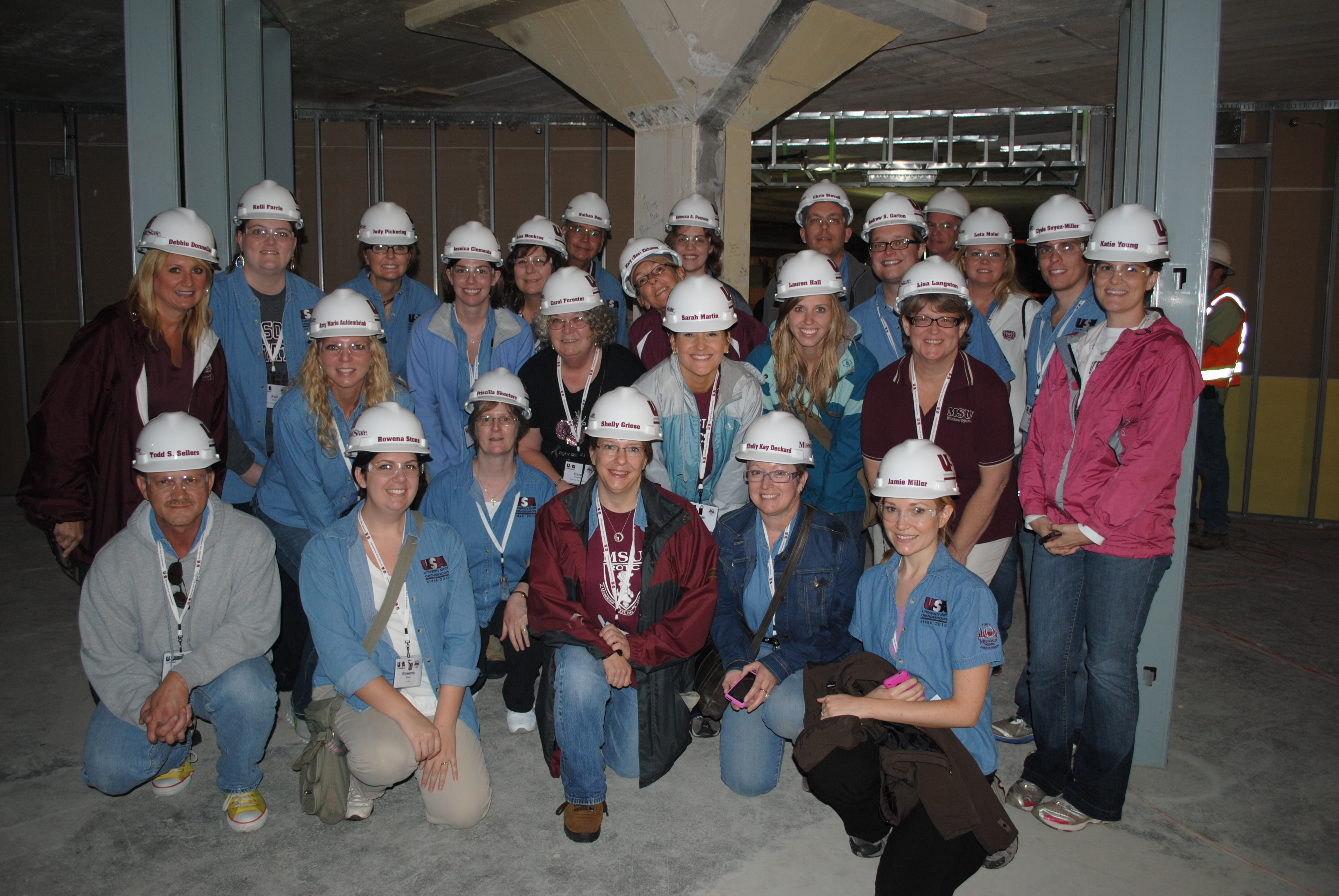 Group Picture 2013 - Hard hats