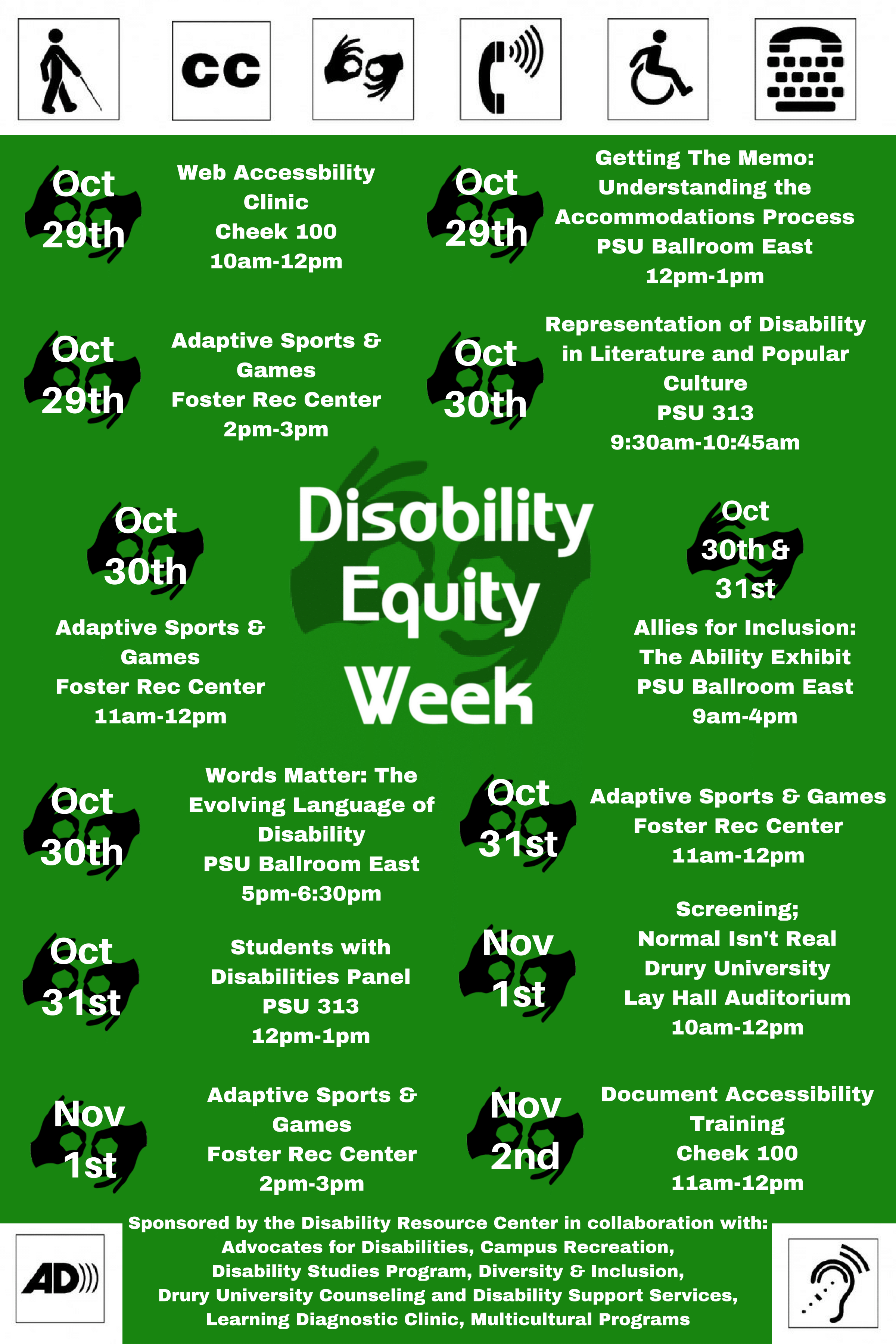 Disability Equity Week 2018