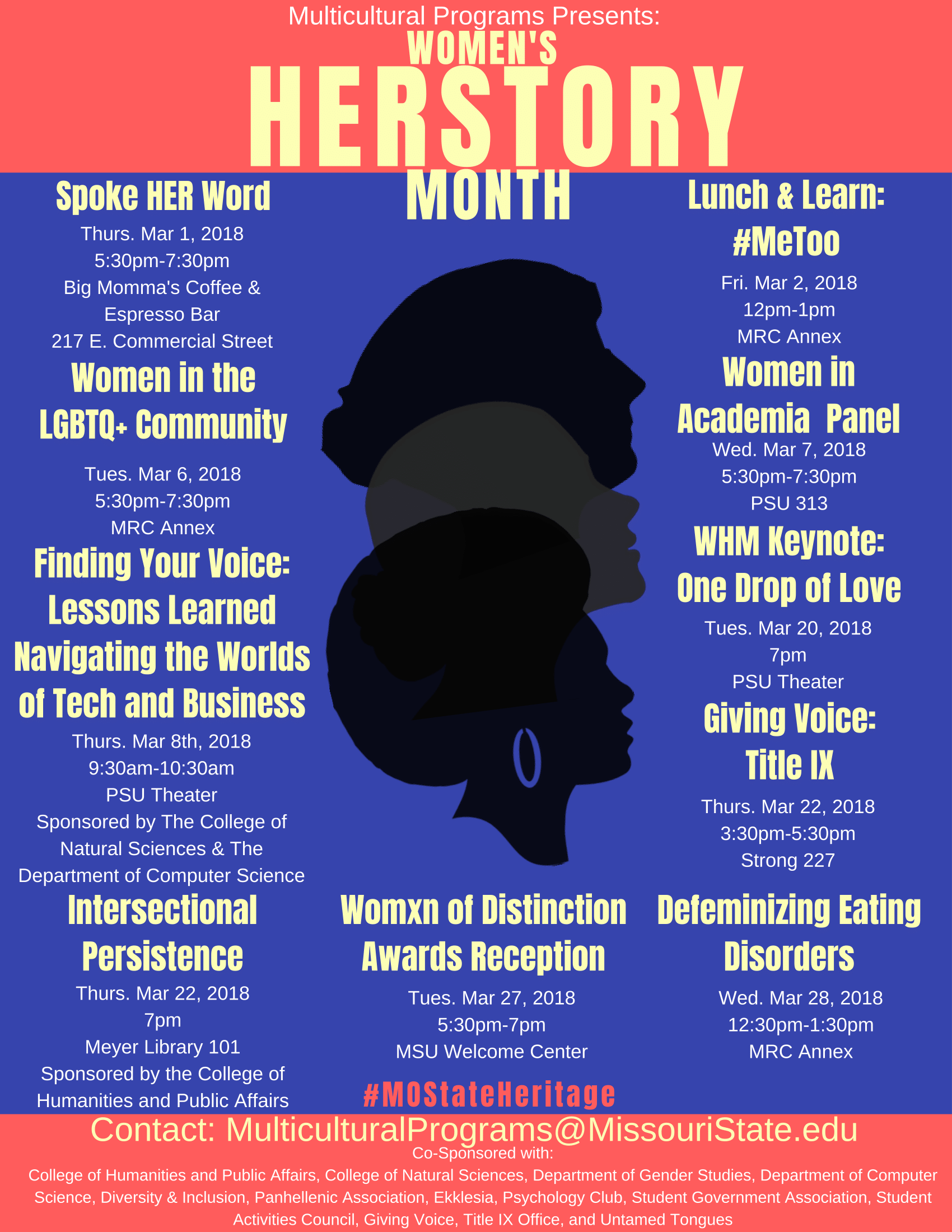 Women's HERstory Month 2018