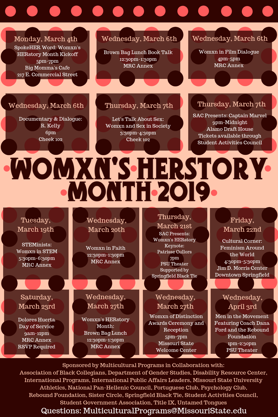 Womxn's HERstory Month 2019