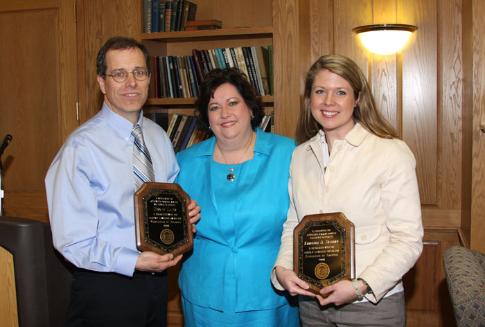 2008 Excellence in Advising Award winners
