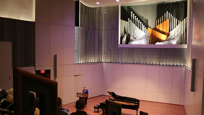 Ellis Recital Hall (renovated in 2017)