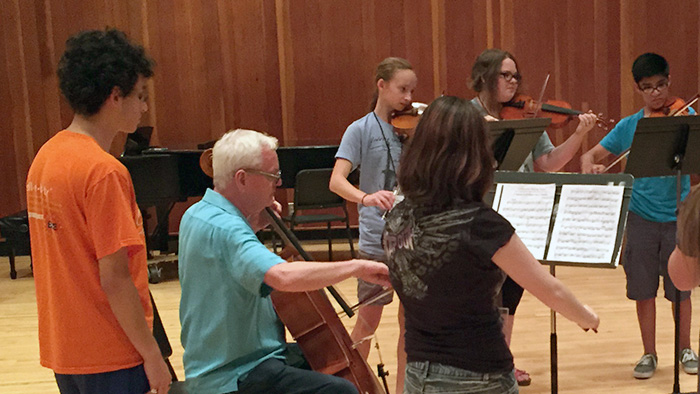MSU String Fling camp lesson by Dr. Murray