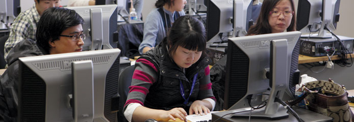 Students in Computer Lab