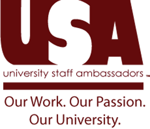University Staff Ambassadors. Out Work. Our Passion. Our University.